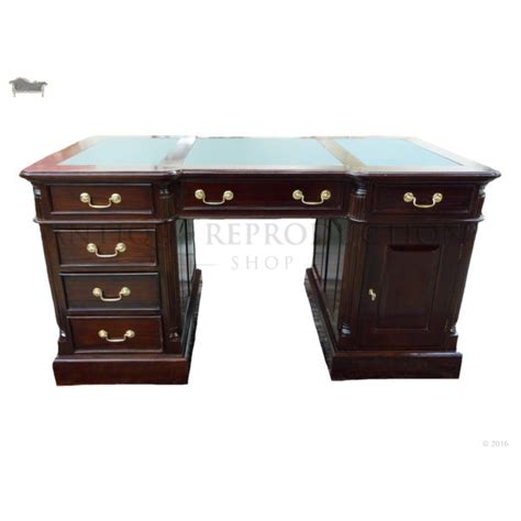 partner s desk 150cm antique reproduction writing office