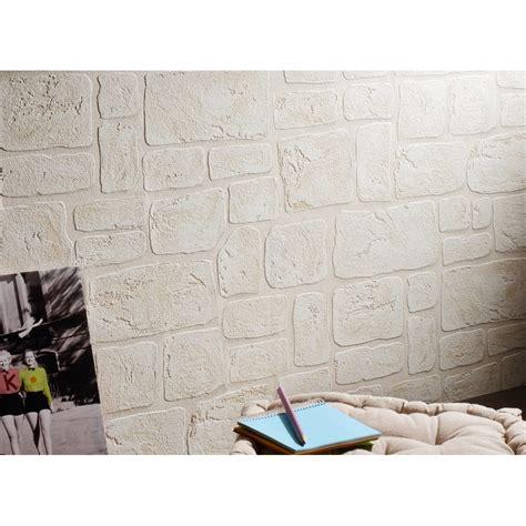 Papier Peint Brique Blanche 3751 by Beau Papier Peint Imitation Galerie Avec Papier