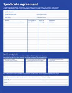 lottery agreement template lottery syndicate form template fill printable