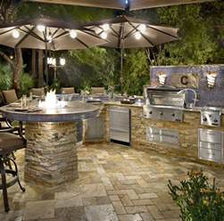 Custom Outdoor Kitchen Designs Custom Outdoor Kitchens Paradise Outdoor Kitchens