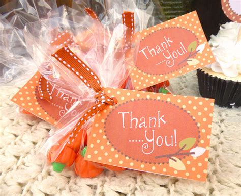 Pumpkin Baby Shower Favors by 5 Best Images Of Autumn Thank You Tags Printable Fall