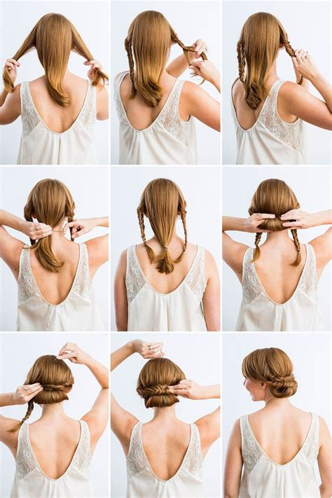 how to diy easy and elegant bun hairstyle icreativeideas 182 best images about quick updos on pinterest updo