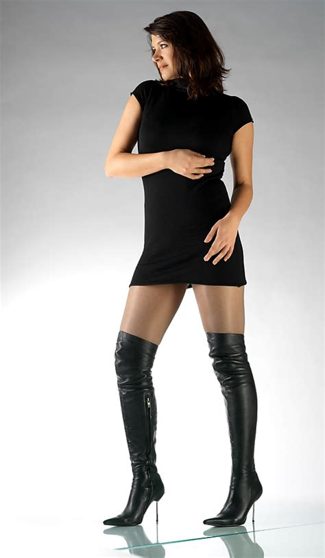 overknee and thigh high stiletto boots