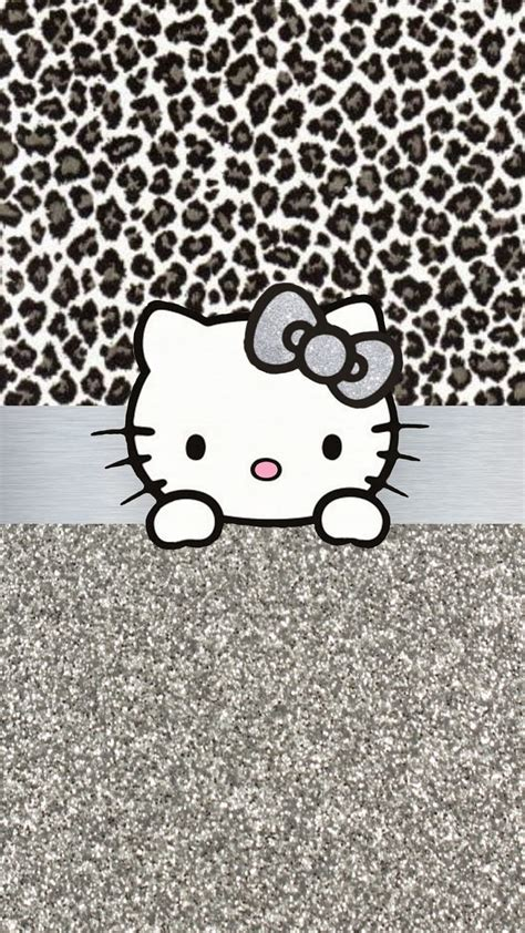 wallpaper hello kitty leopard 10 best images about two of my favs hello kitty and
