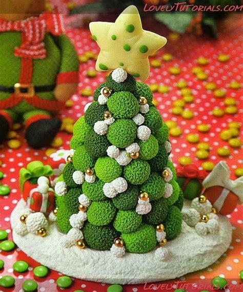 how to make simple clay christmas trees мк лепкановогодние елочки gumpaste fondant polymer clay trees tutorials