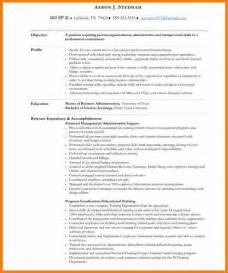 9 Best Executive Assistant Resume Job Bid Template