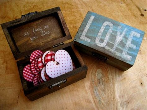 Small Gifts For Friends - small vintage wooden jewelry gift box birthday