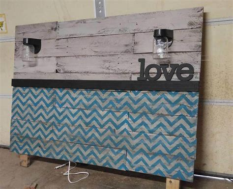 how to make a headboard out of pallets headboards made from pallets