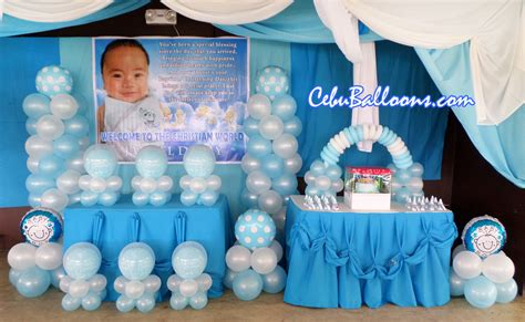 Reasonably Priced Home Decor by Christening Packages Cebu Balloons And Party Supplies