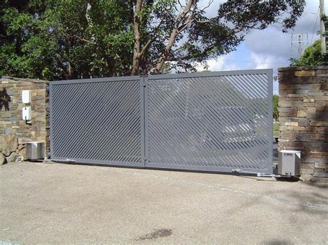 swing gate commercial solution swing gate magic door industries