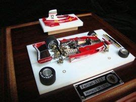 ferrari 312t in it's presentation case | car models