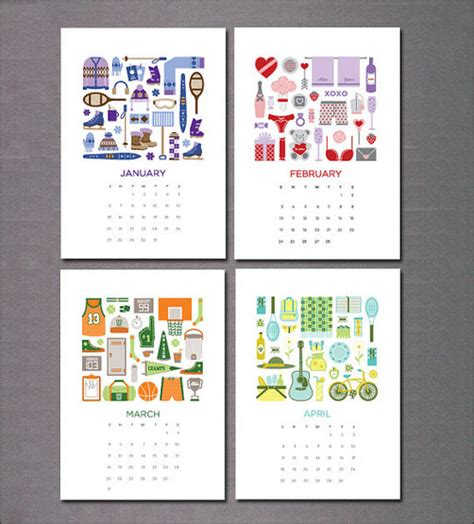 printable calendar graphic design calendar 2013 designs and patterns pinterest
