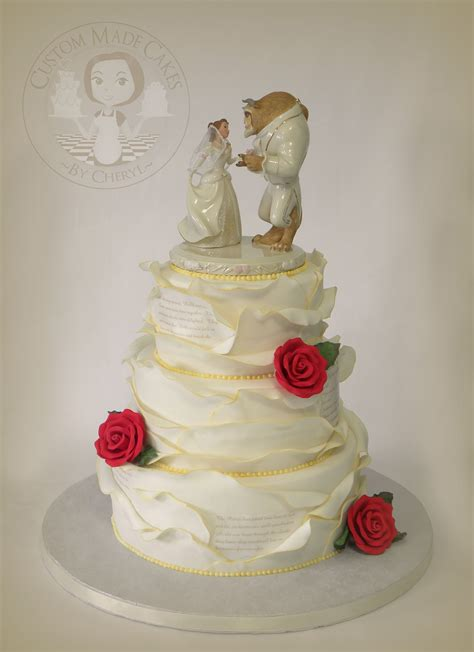 The Wedding Cake by And The Beast Wedding Cake My Cake Creations
