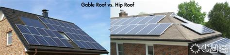 Gable Roof Vs Hip Roof What Makes A Home Right For Solar Solar Power Rocks