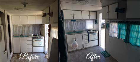 trailer after a to z for like me travel trailer makeover