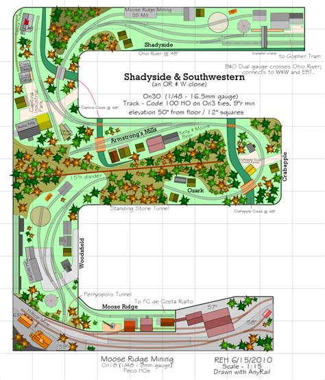 railroad layout software anyrail the easiest model railroad design software