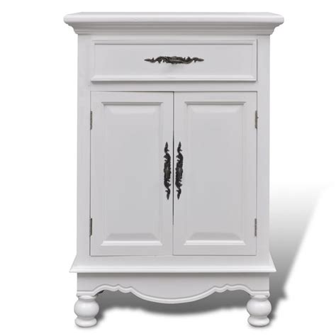 2 door wooden cabinet vidaxl co uk white wooden cabinet 2 doors 1