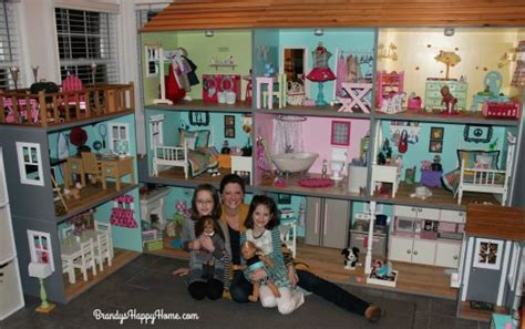 how to make ag doll house american girl dollhouse
