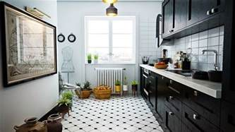 black and white tile designs for kitchens 40 beautiful black white kitchen designs