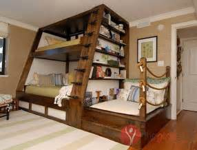 Triple bunk beds with stairs images the girls stuff