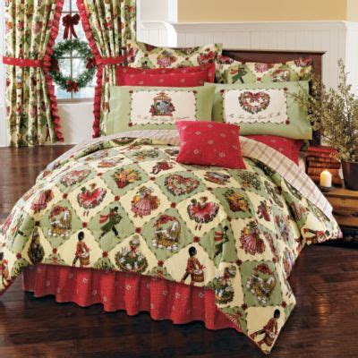 christmas comforter theme bedrooms november 2008