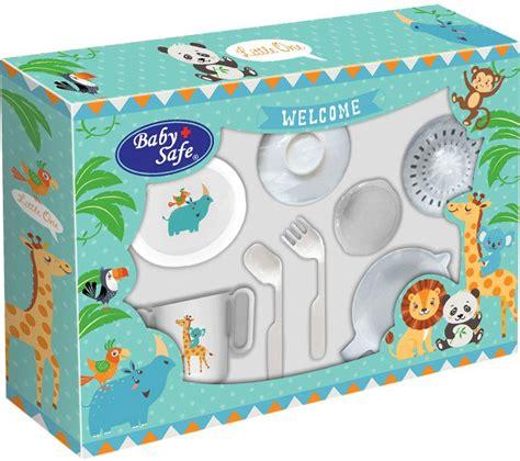 Baby Safe 10 In 1 Alat Makan Bayi Alat Masak Bubur Bayi Steam Botol alat makan bayi mataharimall