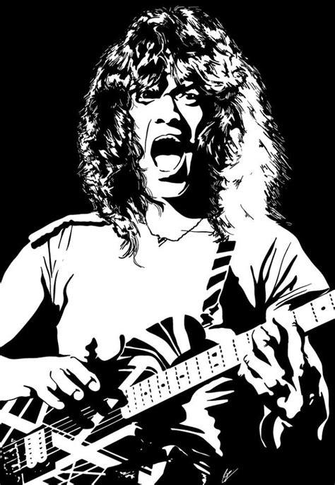 Cutting Sticker Band Halen 177 best images about ilustra 231 245 es on illustration behance and black sabbath