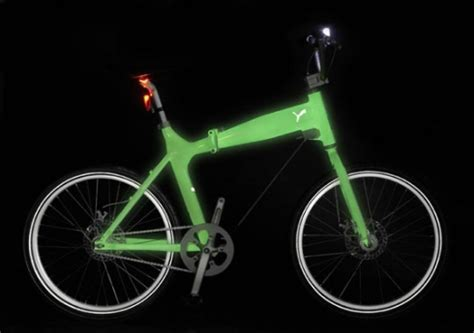 glow in the paint bicycle bikes that glow in the cuny institute for