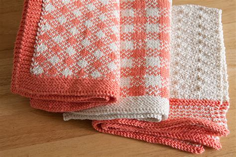 Independent Kitchen Designers by Gingham Towel Set Knitting Patterns And Crochet Patterns