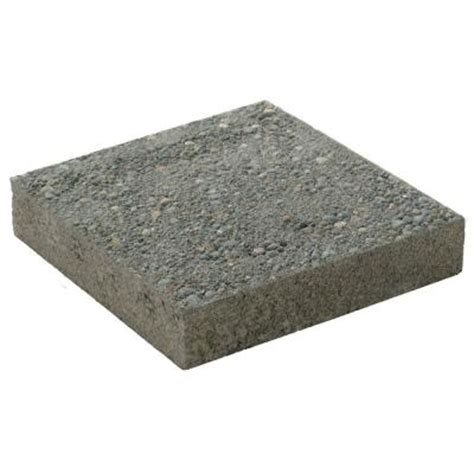decorative stepping stones home depot 12 in x 12 in square exposed aggregate concrete step