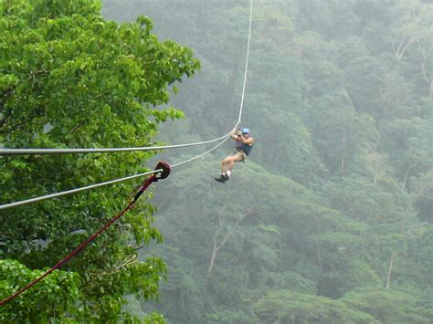 Original Canopy Tour   Half Day Tour in Costa Rica