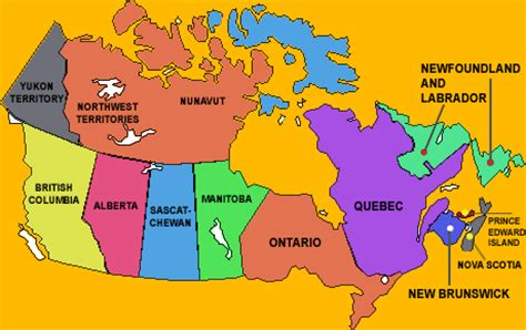 map of canada in french | www.pixshark.com images