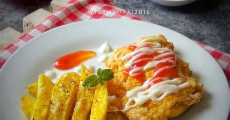 resep fish  chip enak  sederhana cookpad