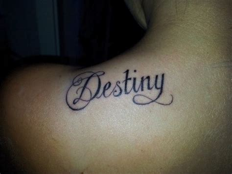 destiny tattoo ambigram tattoos and designs page 385