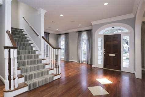 cherry hardwood flooring and grey walls search