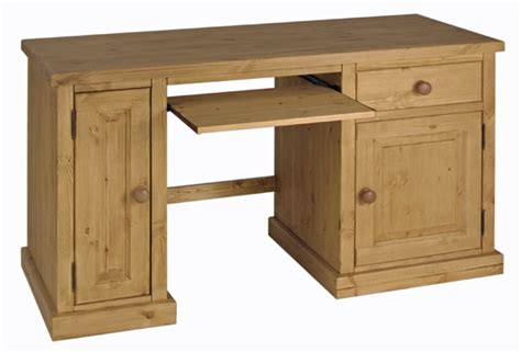 Computer Desk Pine Solid Pine Computer Desk