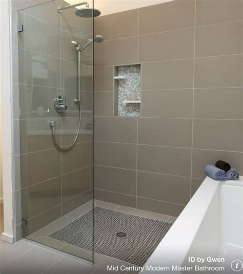 Bathroom Threshold by Zero Threshold Frameless Glass Shower Home