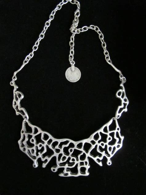 turkish jewelry handcrafted artisan free form necklace