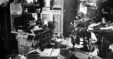 ed gein house ed gein s house of skin look inside gein s filthy cluttered kitchen police found a