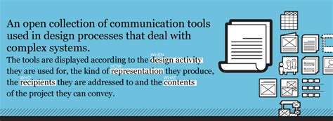 process design tools service design tools communication methods supporting