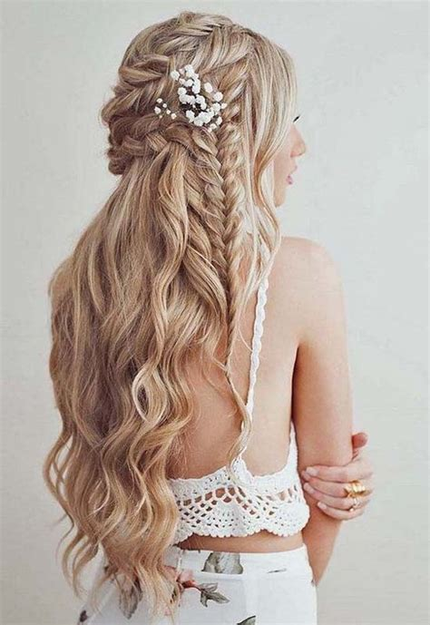 Wedding Hairstyles Half Up Pictures by Half Up Half Wedding Hairstyle 2018 Modren Villa
