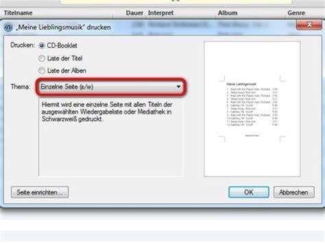 Etiketten Drucken Apple by Cd H 252 Lle Mit Itunes Drucken Bilder Screenshots