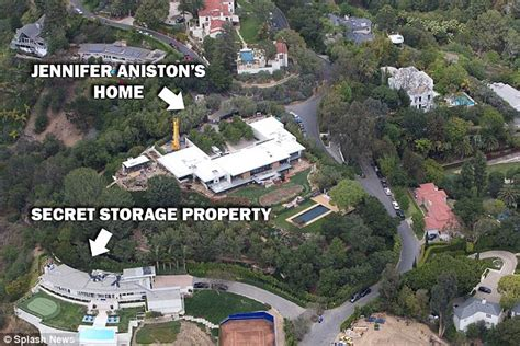 When Did House Air by Aniston And Justin Theroux Used A Secret Storage