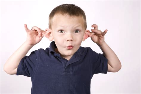 pulling on ears is according to babyscience