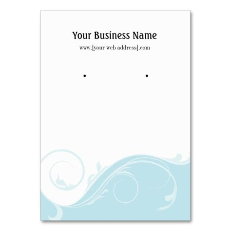 Screen Card Templates by Luxury Earring Display Card Template Component Resume