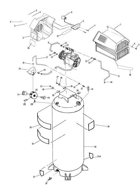 sears craftsman parts 919 727270 air compressor