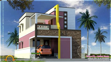 design home 880 sqft modern style south indian house exterior kerala home