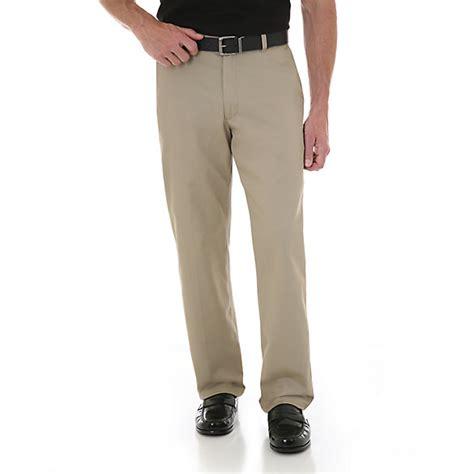 wrangler comfort solutions wrangler 174 comfort solutions series flat front casual