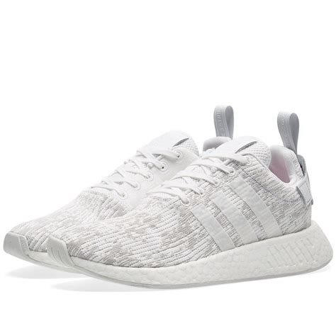 adidas originals nmd  boost damen weissgrau