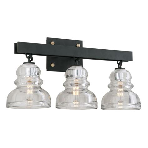 Troy Light Fixtures Troy Lighting Mercantile 4 Light Vintage Bronze Vanity Light B3844 The Home Depot